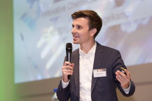 Beim Pitch: Philipp Engelkamp, Ineratec